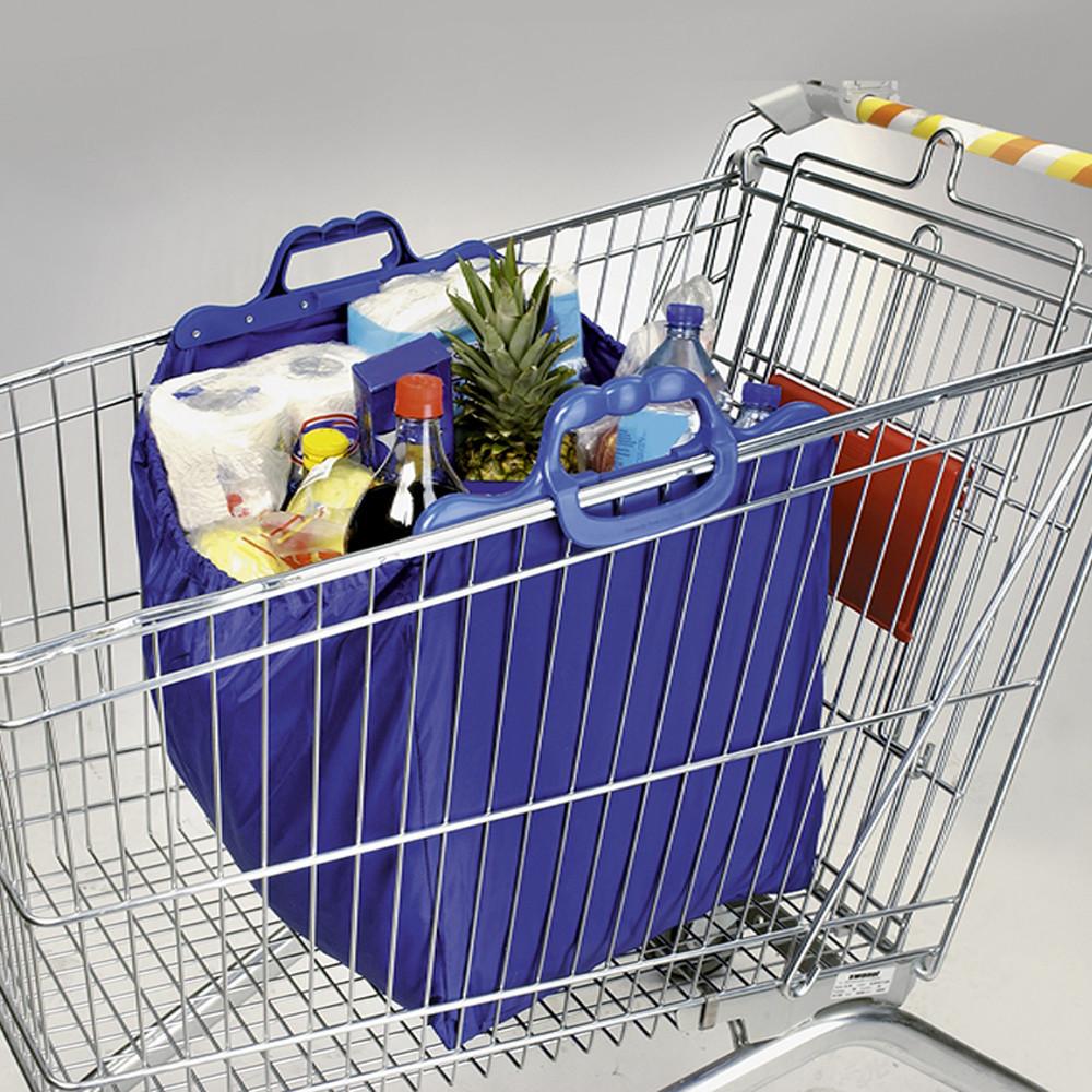 Bevásárlókocsiba akasztható szatyor