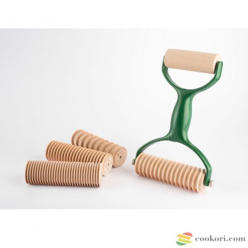 Eppicotispai Patty pasta roller & cutter green