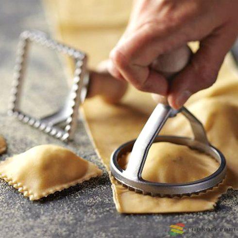 Eppicotispai Ravioli és keksz kiszúró, 2db-os(szögletes+kerek)