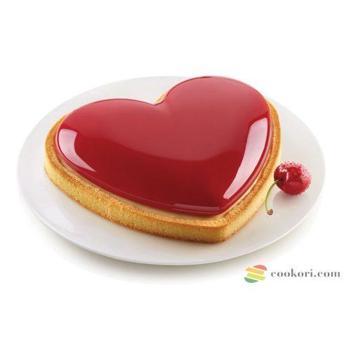 Silikomart Kit Tarte Mon amour set heart ring