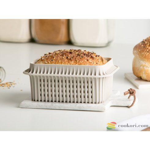 Silikomart Szendvicskenyér sütőforma, lyukacsos