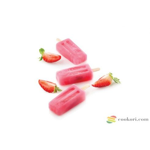 "Silikomart ""Mini vintage"" jégkrém forma 4db-os"