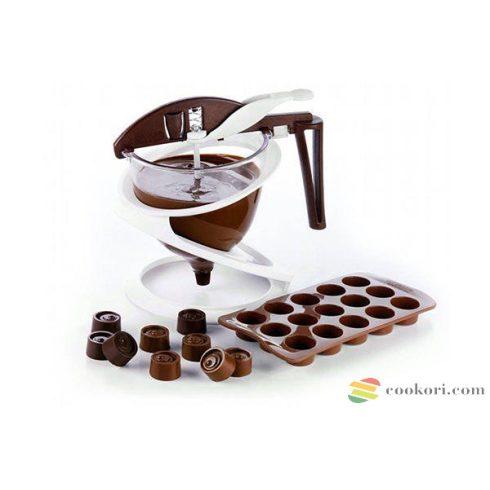 """Silikomart """"Funnel Choc"""" csokoládé adagoló tölcsér (Acc086)"""