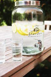 Limonádé készítő üveg 10L
