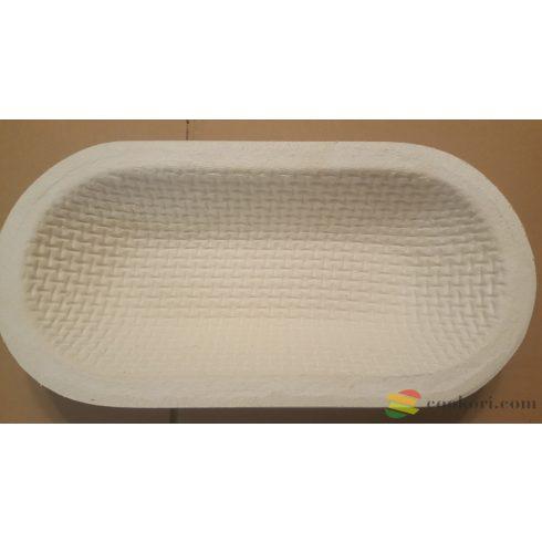 Fapép szakajtó ovális 1kg-os veknihez (31x13,5x7cm)