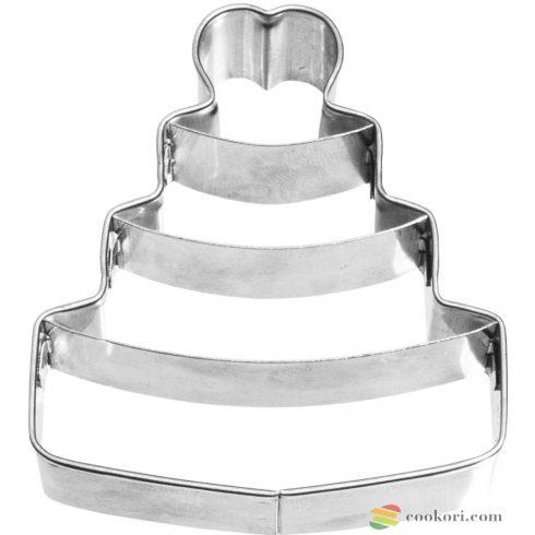 Birkmann Esküvői torta kiszúróforma 6,5cm