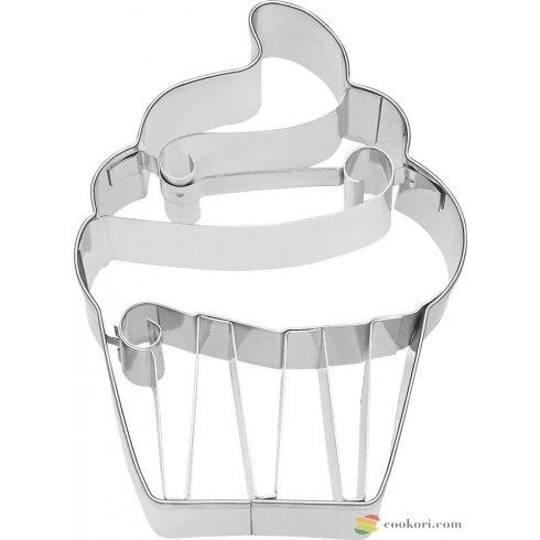 "Birkmann Cupcake ""cream"" kiszúró, 9cm"