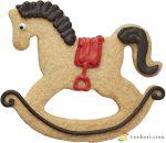 Birkmann Rocking horse cookie cutter 7cm