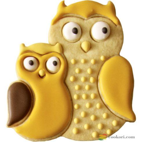 Owl tin plate