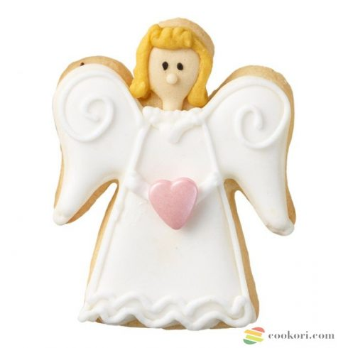 Cookie cutter angel, small 6cm