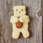 Cuddle teddy cookie cutter 6,5cm