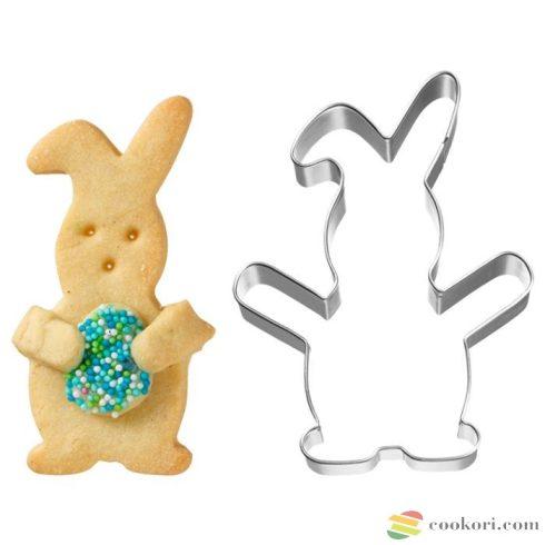 Birkmann Cuddle rabbit cookie cutter 10cm
