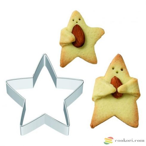 Birkmann Cuddle star cooki cutter 6cm