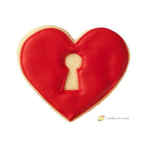 Birkmann Kiszúró szív kulcslyukkal,  7cm