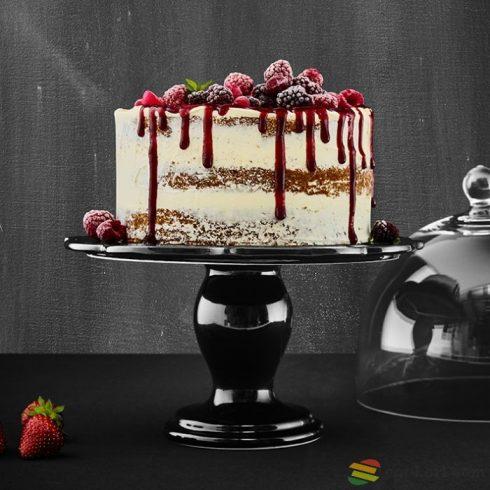 Birkmann Cake plate avantgarde, ceramic 34cm