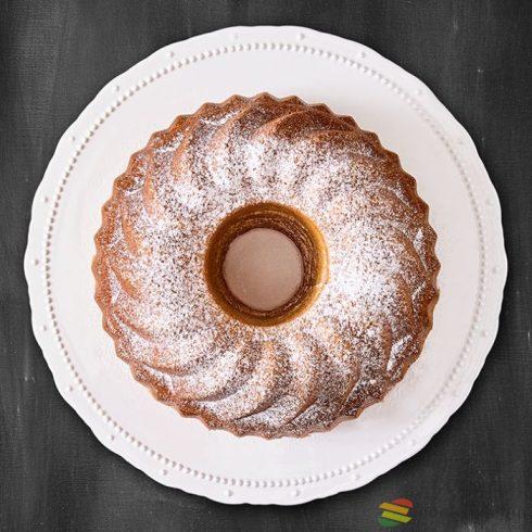 Birkmann Kerámia tortatál Vintage, 33cm