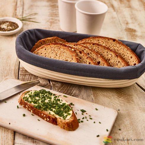 Birkmann Takaró 30cm-es ovális kenyérkelesztő kosárhoz