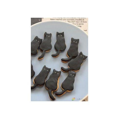 Birkmann Ülő macska kiszúróforma, 7cm