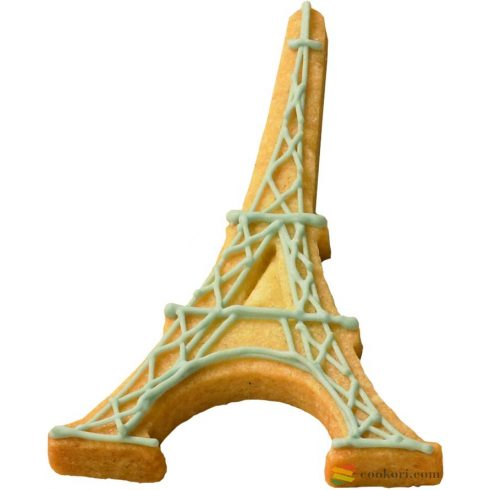 Eiffel tower cookie cutter
