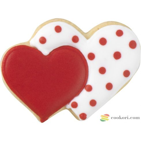 Birkmann Double heart cookie cutter