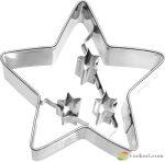 Birkmann Karácsonyi csillag kiszúróforma 6,5cm