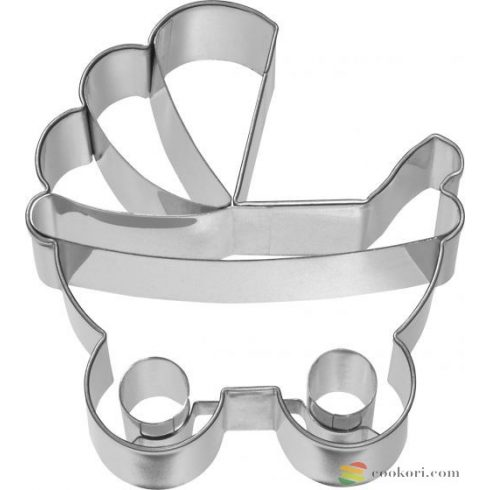Birkmann Baby carriage cookie cutter 7,5cm