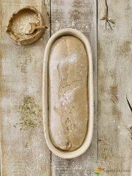 Birkmann Kenyér- és kalácskelesztő kosár, ovális 40cm