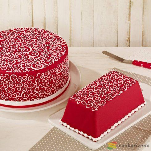 "Birkmann Cake stencil set ""Krigel"""