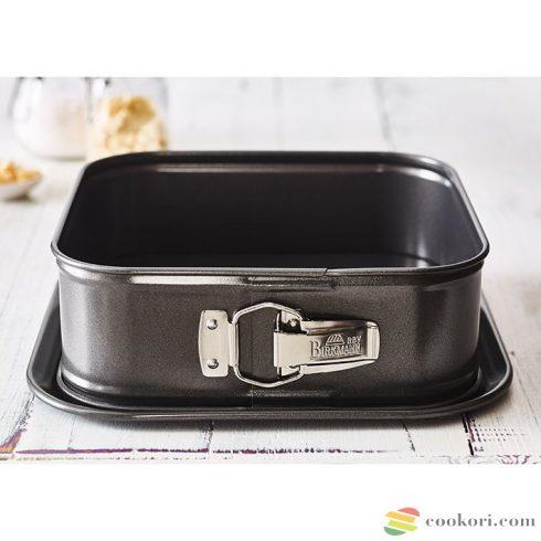 """Birkmann """"Easy Baking"""" Kapcsos, peremes sütőforma négyzet, 24x24cm"""