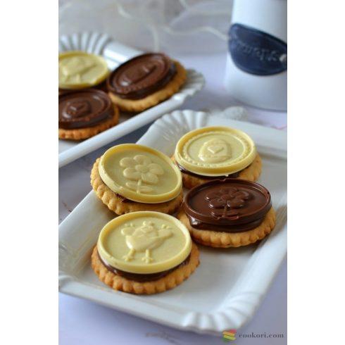 Silikomart Csokis keksz készítő készlet, húsvét