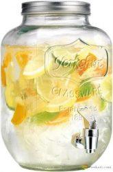Limonádé készítő üveg 7,7L