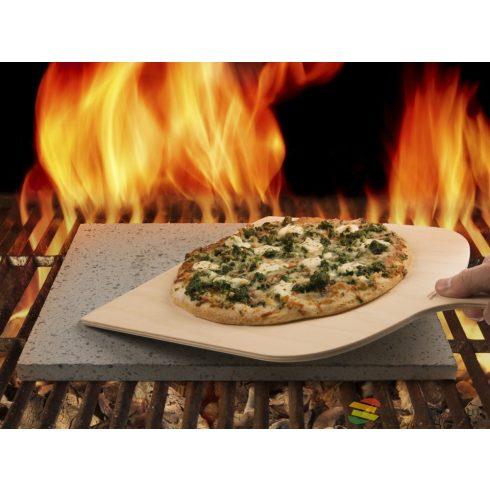 Eppicotispai Etna Láva sütőkő, pizzakő + lapát, 38x30x1,5cm
