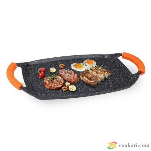 Ibili Grill plate basic stone 47x28,5cm