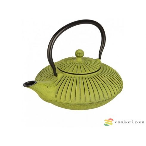 Ibili Öntöttvas teáskanna zöld 0,78L
