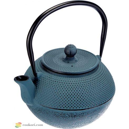 Ibili Blue cast iron teapot