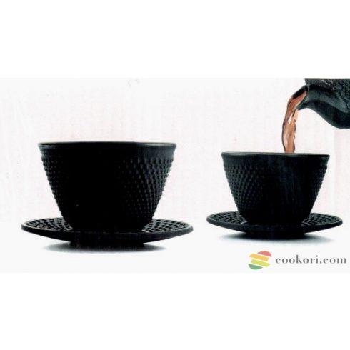 """Ibili Öntöttvas teáscsésze tányérral """"Clasica"""", 2db"""