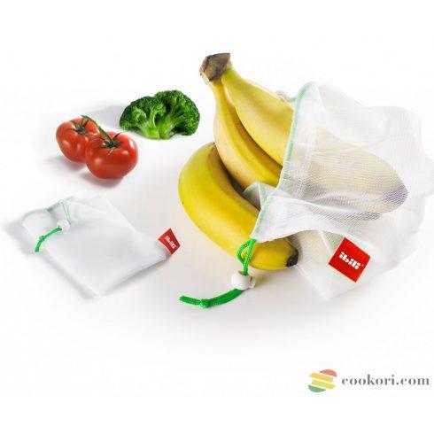 Ibili Öko Hálótasak gyümölcshöz, zöldséghez, 6db-os
