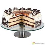 Ibili Revolving cake stand (glass and steel)