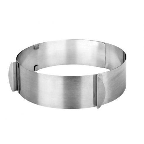 Ibili Állítható sütőgyűrű, 6cm magas