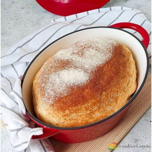 Ibili Oval casserole red 27x21cm