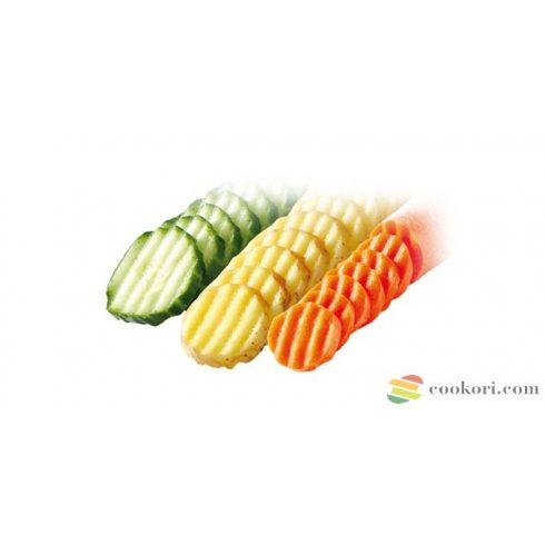 Ibili Hullámos zöldség vágó