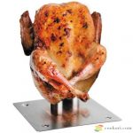 Chicken roast stand with infuser