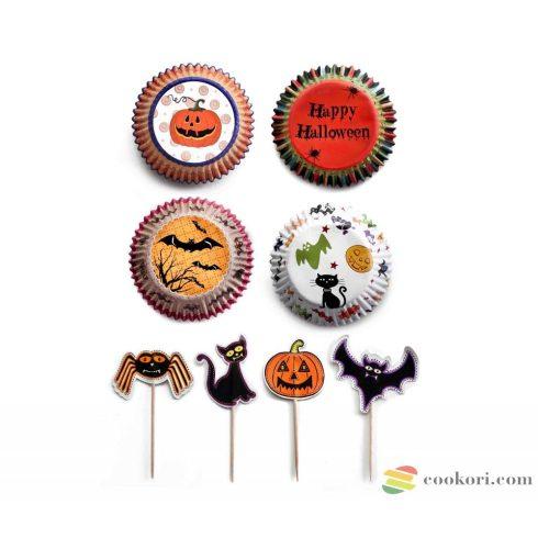 Ibili Halloween Party készlet, 96+24db-os
