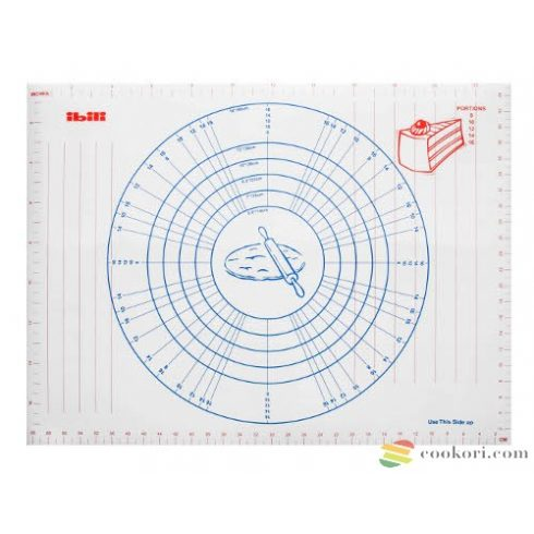 Ibili Pastry mat with measurements