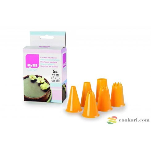 Ibili set 6 plastic nozzles
