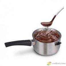 Ibili Duplafalú edény, csokiolvasztó