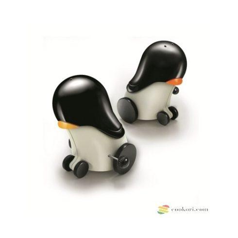 Ibili Só és bors szóró, felhúzható pingvin