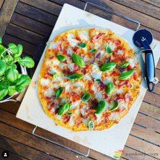 Ibili Sütőkő, pizzakő 40x36x1,5 cm