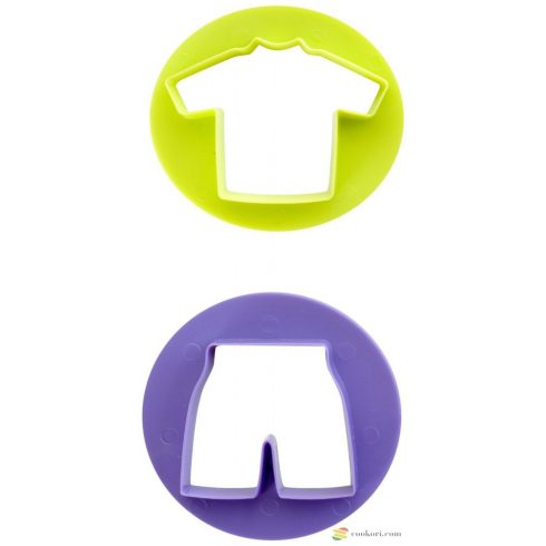 Ibili set 2 cookie cutters soccer