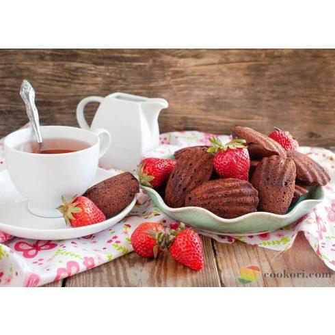 Ibili Madeleine sütőforma, 12db-os